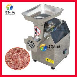 甘肃定西 商用电动绞肉机 鲜肉不锈钢绞肉机