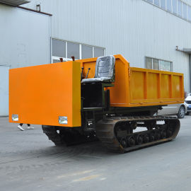 小型工程履带运输车 全地形运输车 农用四不像自卸车