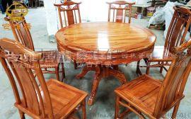 四川古典餐桌八仙桌古典家具定制厂家