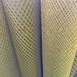 新型钢板网片 菱形孔钢铝板网厂家 工程钢板拉伸网
