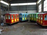 無軌火車遊樂設備電動小火車兒童遊樂設備仿古觀光火車