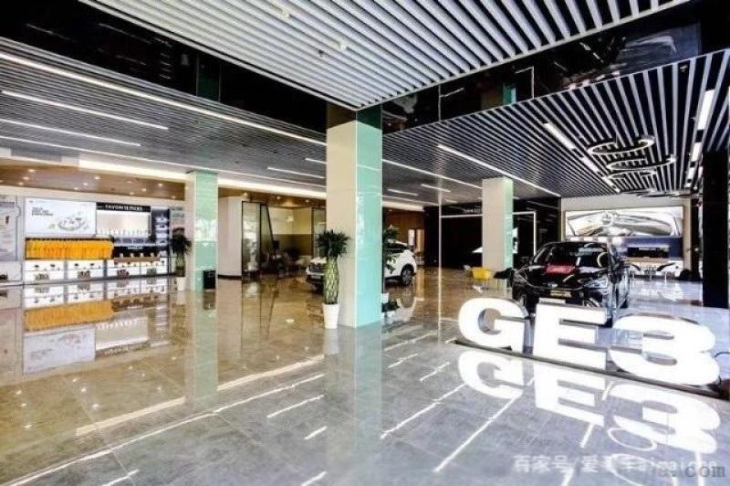 深圳4S店新能源外牆格柵鋁方通 外牆衝孔鋁單板