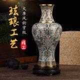 正品景泰蓝花瓶大唐风韵赏瓶北京特产
