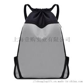 防水滌綸束口袋定做抽繩收納旅行運動包定製logo