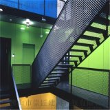 750型瓦楞鋁板包柱圍欄鋁板網裝潢
