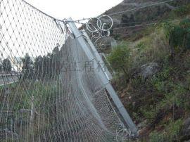 湖南益阳高速边坡防护网-菱形被动防护网RX-050