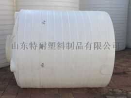 山东2吨耐酸碱化学塑料圆桶2000L化学塑料水塔搅拌桶
