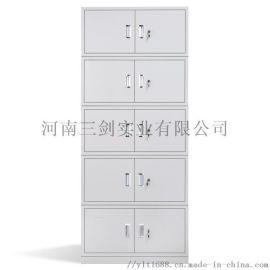 厂家订制钢制双五节资料柜凭证柜文件柜可分体铁皮柜
