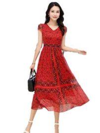 卡伊奴国内一线品牌女装尾货库存连衣裙走份模式