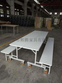 移動餐桌,折疊桌,餐桌,大型餐廳折疊桌,鋼木結構