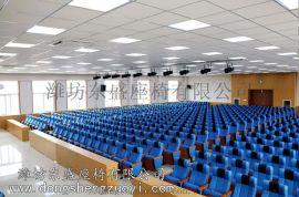 礼堂座椅 环保结实连排椅   报告厅座椅生产厂家