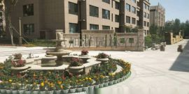 水景喷泉雕塑欧式石材庭院水景