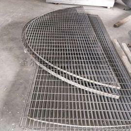 热镀锌钢格板 不锈钢格栅 走道工厂踏步钢格板