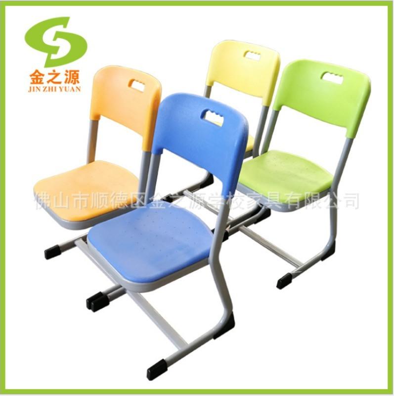 佛山厂家直销中空吹塑课桌椅 ,办公培训会议塑料椅