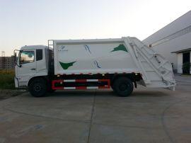 14方东风天锦压缩式垃圾车|10吨天锦垃圾车