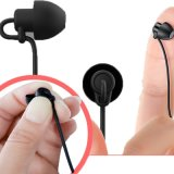 睡眠耳机软硅胶侧睡不压耳入耳式手机耳机线控有线耳机