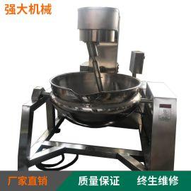强大机械出售淀粉  行星带搅拌炒锅