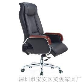 大班老板椅真皮可躺電腦辦公椅書房家用椅