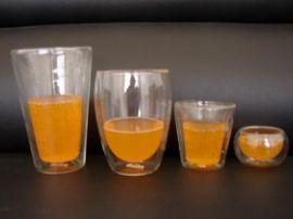 玻璃双层杯