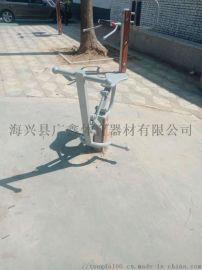 广鑫体育直销**塑木骑马器键骑机等各种塑木健身路径