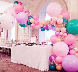 昆明、花語花香、氣球派對婚房