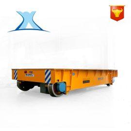 厂家定做板材搬运钢包轨道车 有轨电动平板车 运货轨道遥控车
