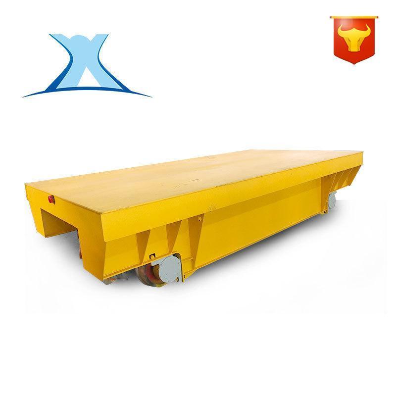 非标定制仓储货物装载平板电动搬运车 蓄电池遥控钢铸件工业用车