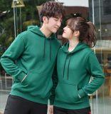 冬季韓版時尚學生班服套頭衛衣加絨連帽男女工作服印字印logo外套