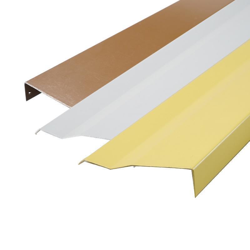 铝挂片天花厂家定制滴水S型系列铝挂片天花装饰材料