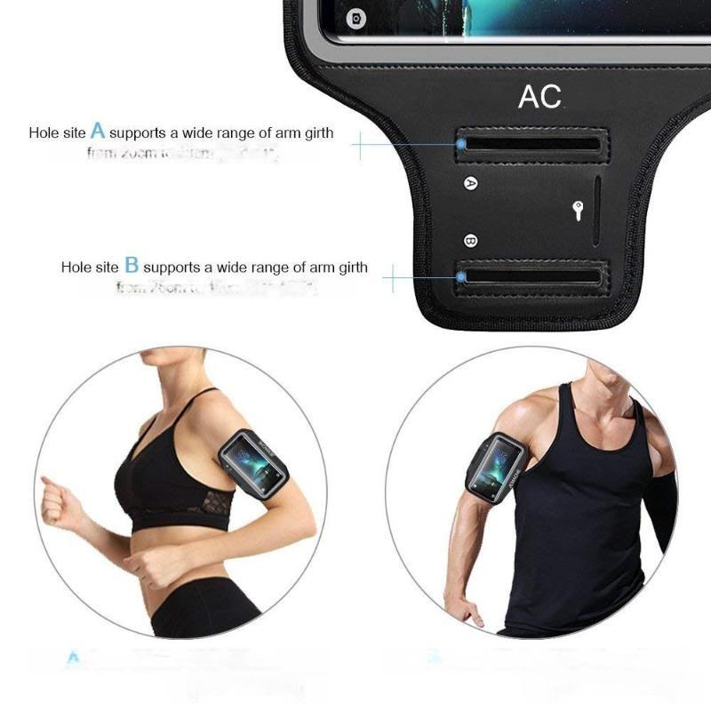 **热销手机臂带健身徒步的运动煅炼臂带自带卡夹