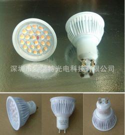 LED射灯灯杯5W GU10LED灯杯 E27LED射灯 24PCSSMD贴片LED灯杯