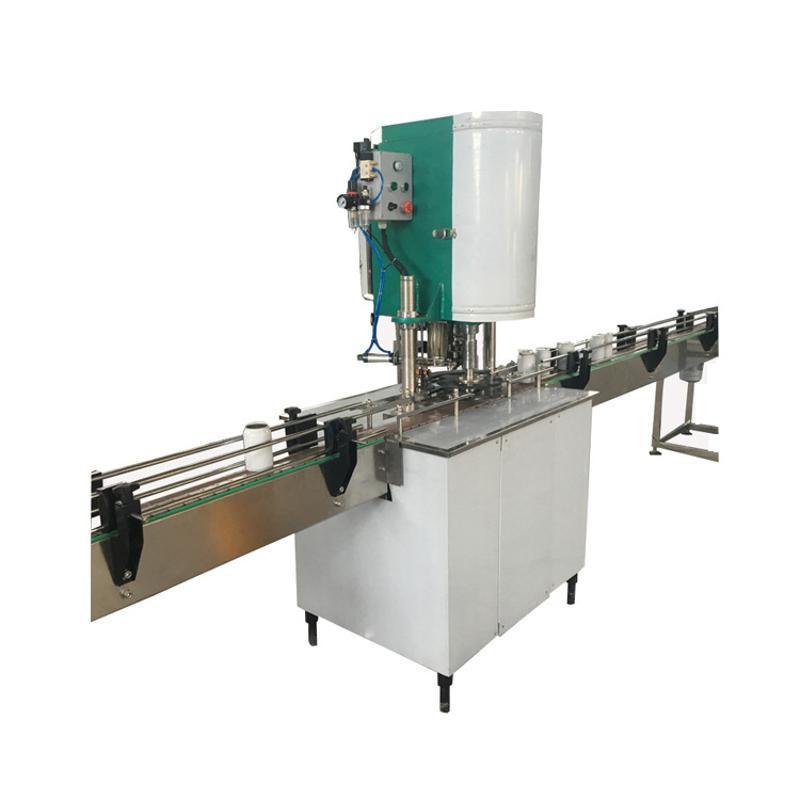 工廠定製全自動 食品易拉罐 馬口鐵罐 塑料易拉罐封蓋機