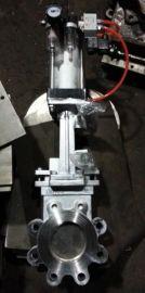 PZ673F-10P气动刀型闸阀