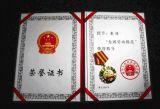广东专业制作各类勋章,奖章,奖状,证书