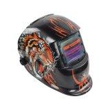 电焊帽子轻便透气自动变光电焊面罩