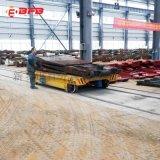 冶金模具110吨摆渡轨道车 喷砂过跨地轨车