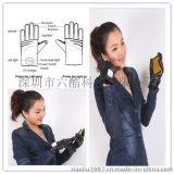最新创意手势接听电话带振动蓝牙保暖手套/触屏手套/厂家直销