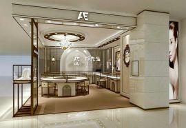 珠宝展柜,不锈钢珠宝展示柜,卡地亚珠宝展柜设计