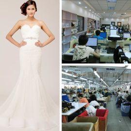 高端婚纱礼服定制来版加工来图加工