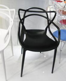 PP塑料椅 一体塑胶椅 时尚耐用的会客椅子