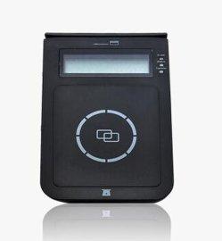 E7感应式会员IC卡读卡器CPU卡读写器接触式读卡器非接触式采集器