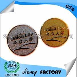 厂家定制中国人寿徽章金属钥匙扣狮子会徽章共济会徽章奖杯奖牌纪念币