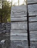河北蘑菇石廠家,黑色板岩,高檔別墅外牆文化石