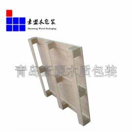 大量生产出口木托盘 黄岛胶南免熏蒸托盘木箱