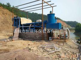 带式污泥浓缩脱水一体机