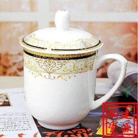 景德镇茶杯子生产厂家 纪念品定制陶瓷茶杯 保温杯价格