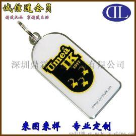厂家深圳鼎霖直销金属钥匙挂件 个性创意欧美风格麋鹿图案钥匙扣定制