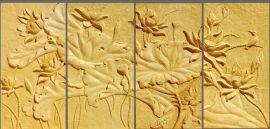 度假酒店艺术品设计-砂岩壁画设计