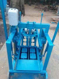 小型空心砖机 震动水泥砖机 一次两块小型免烧砖机
