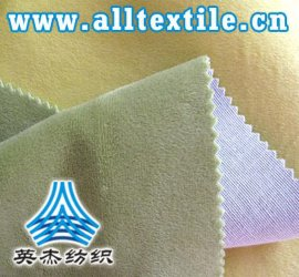 涤纶麂皮绒复合面料